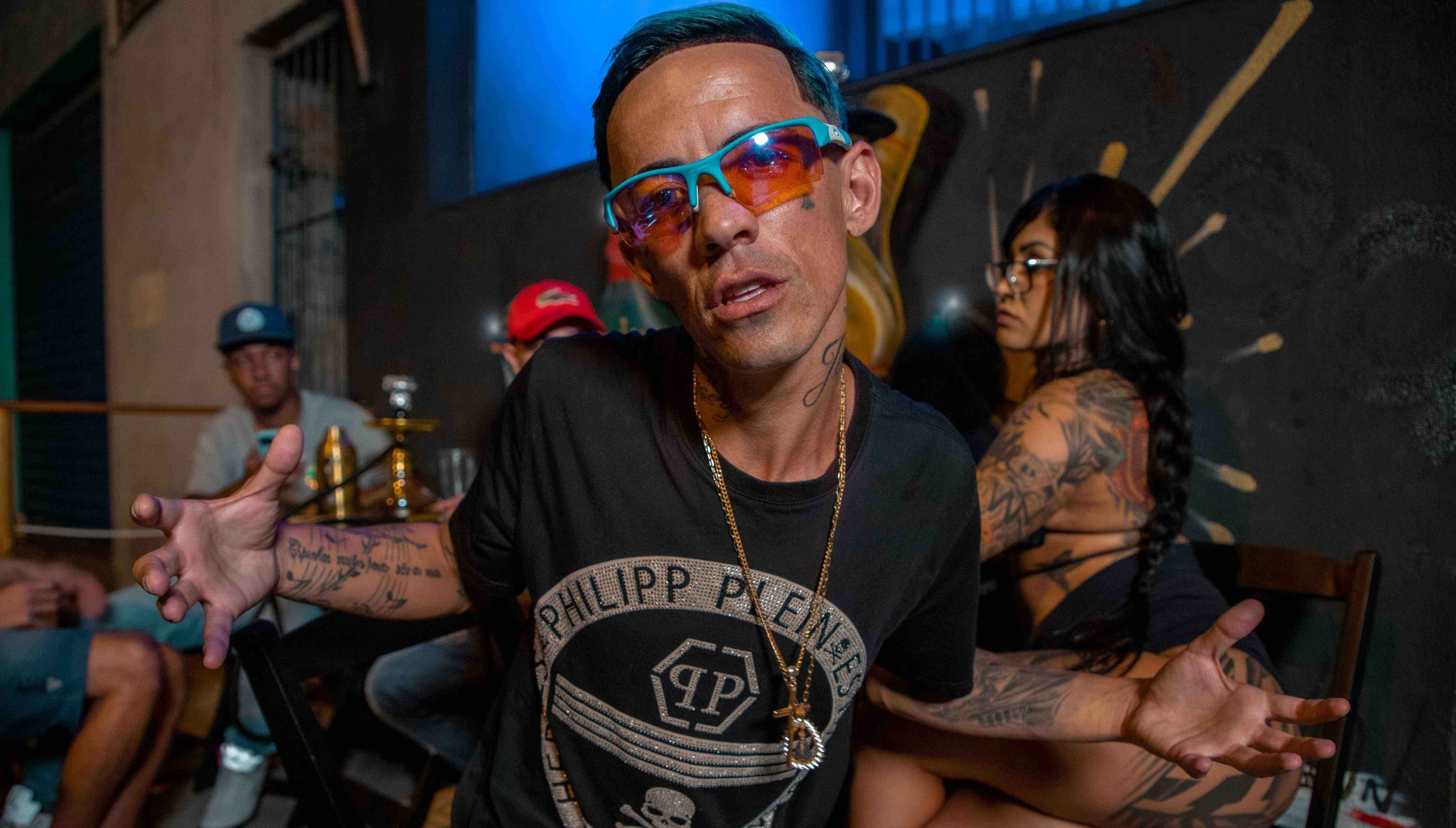 MC Brankim grava videoclipe para o Canal Kondzilla