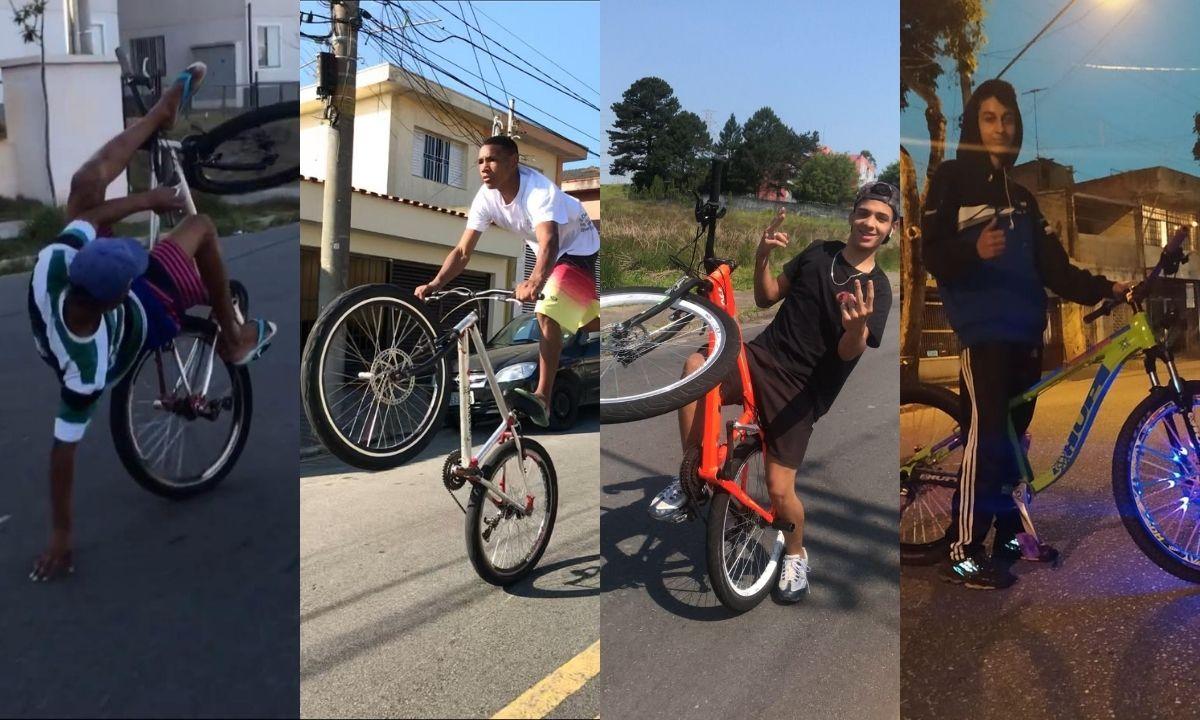 Conheça quatro perfis de meninos que mandam grau de bike pela quebrada