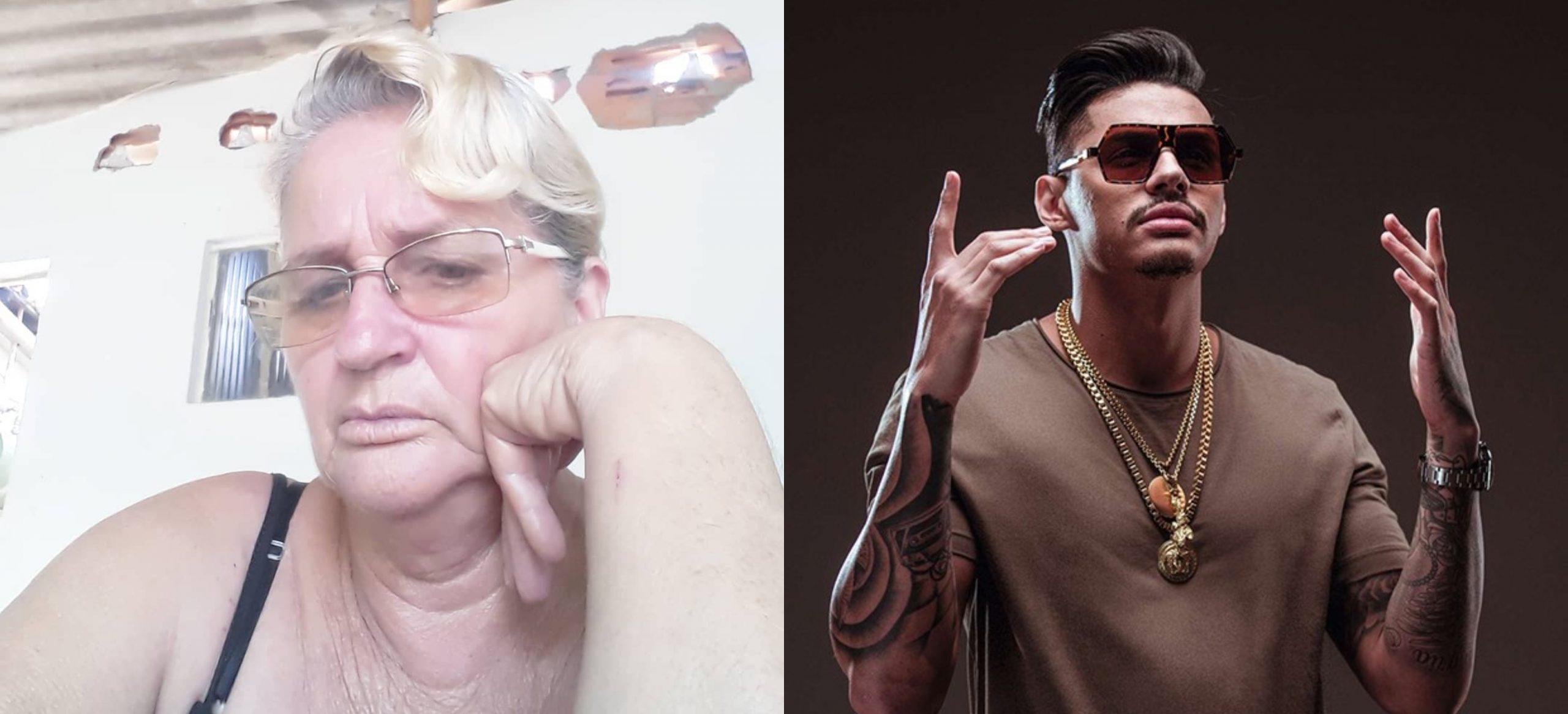 Vovó do rap fez sucesso na internet cantando Hungria e com o bordão 'respeita carai'