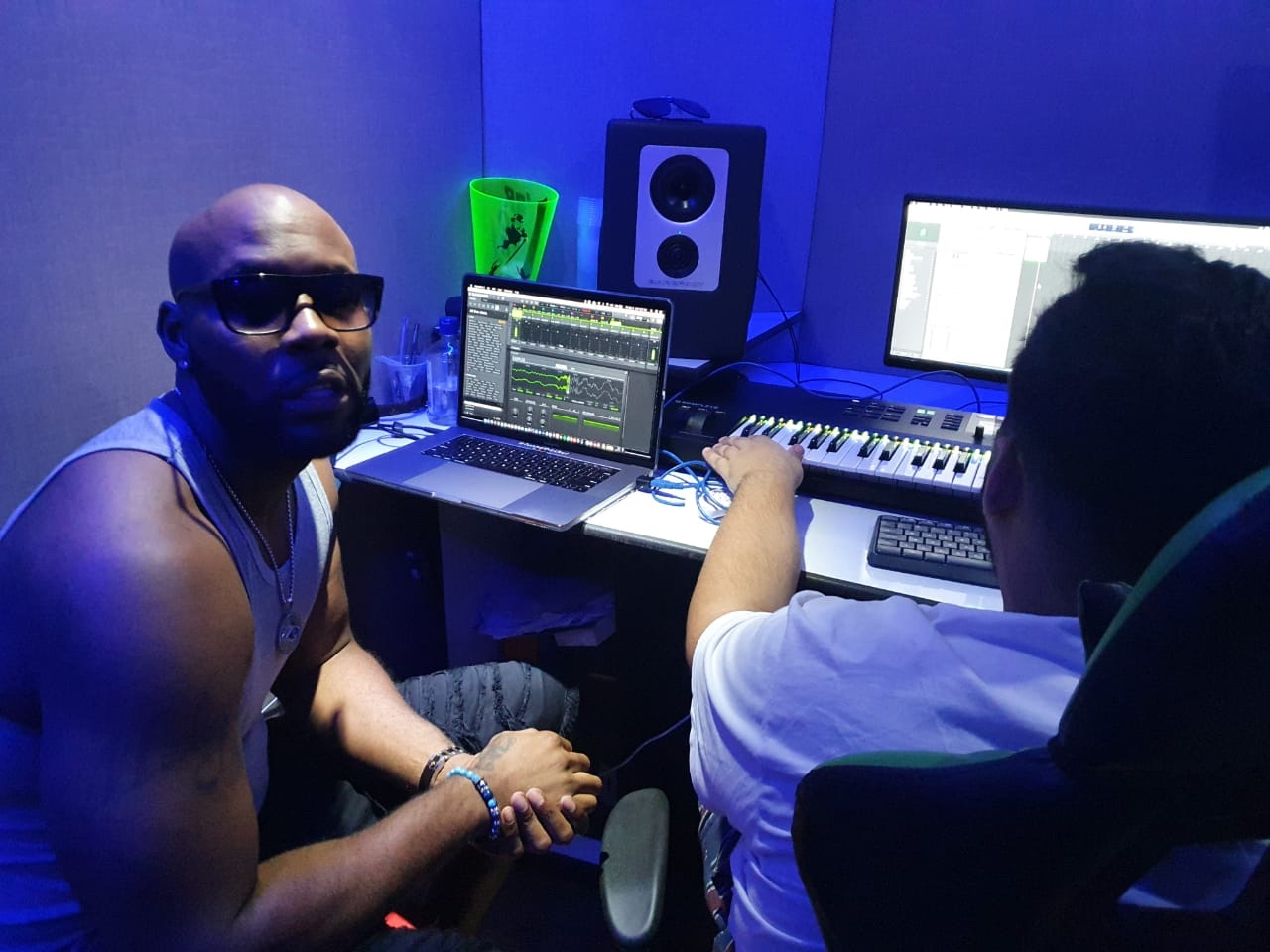 Mahogany Beatz e DJ RD se unem para produção de trap-funk nos estúdios da KondZilla Records