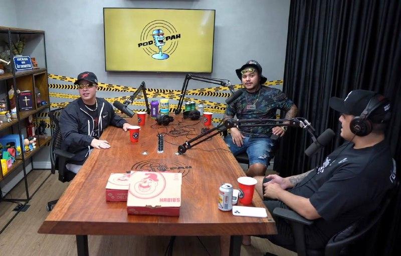 Jottapê participa do podcast PodPah e conta curiosidades sobre a carreira