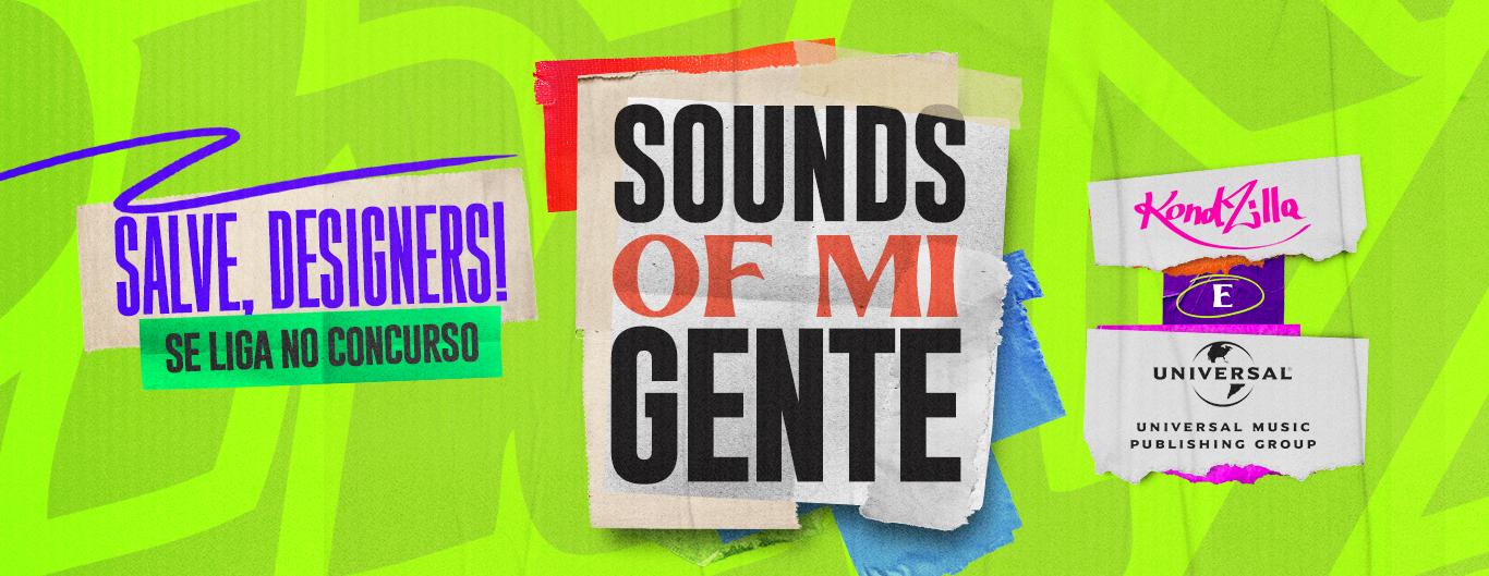 Sounds of Mi Gente: Concurso para achar o designer que vai cuidar da identidade do projeto já está no ar