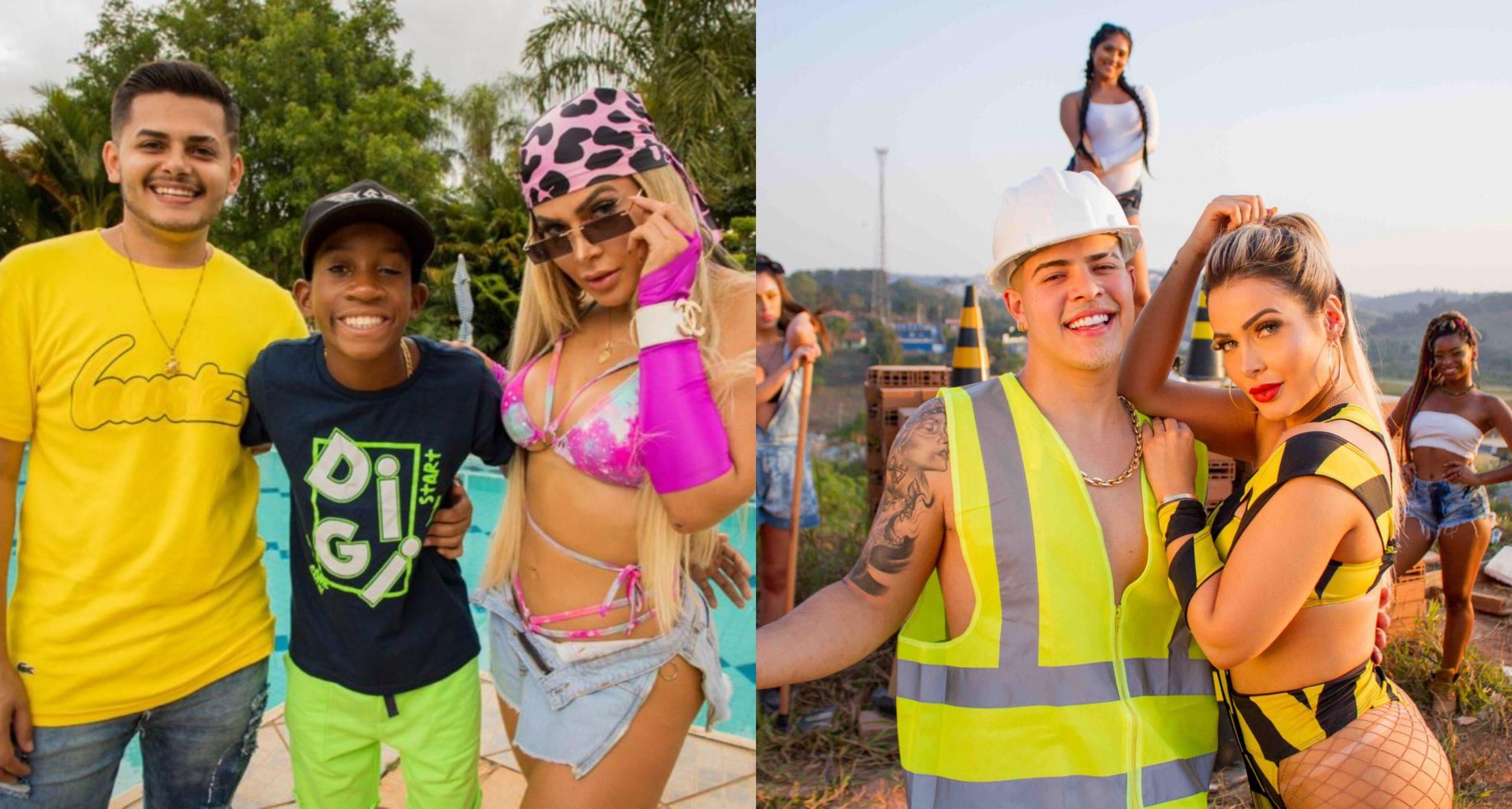 """""""Nem Guindaste"""" e """"Amor ou Litrão"""" concorrem à Melhor Coreografia no Prêmio Rádio Globo Quem"""