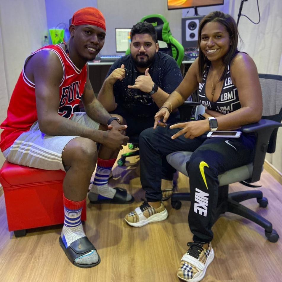 MC Danny, Kekel e DJ RD se unem nos estúdios da KondZilla Records para gravação do próximo hit