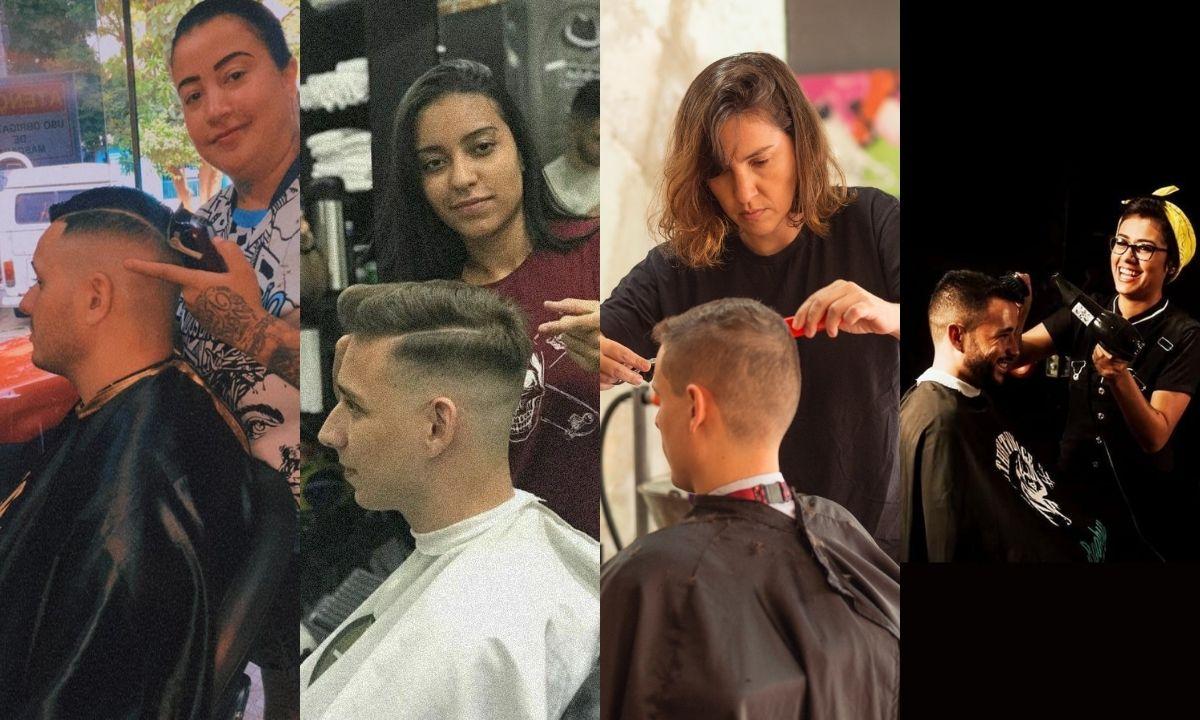 Barba, cabelo e bigode: conheça as histórias de mulheres que são barbeiras e se destacam na profissão