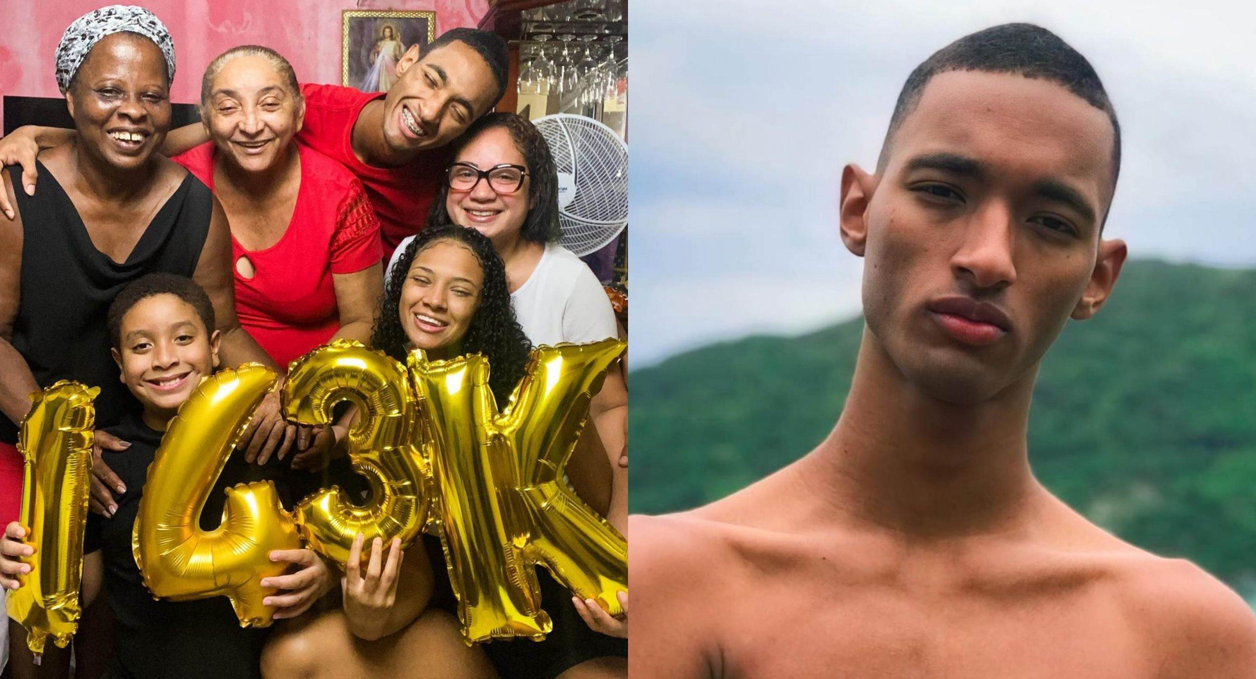 Conheça o Raphael Vicente, criador de conteúdo que viralizou nas redes com vídeos de humor ao lado da família