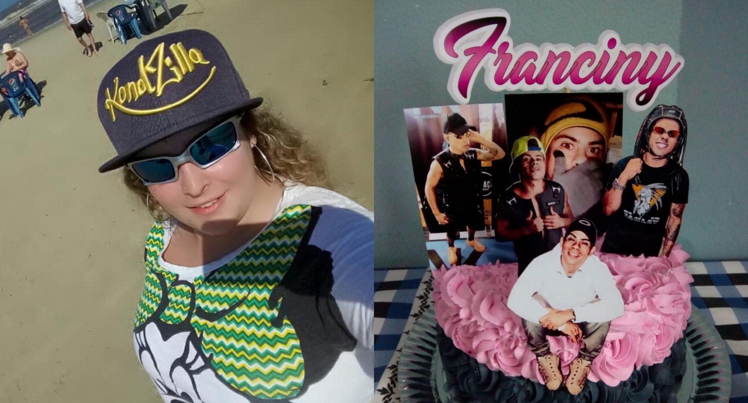 Fã do MC Neguinho do Kaxeta, MC Franciny quer fazer a diferença no funk