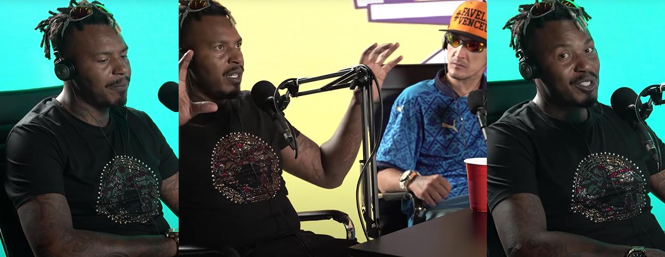 """""""Único cara polêmico que eu sou fã é o MC Kevin"""", diz MC Nego Blue"""
