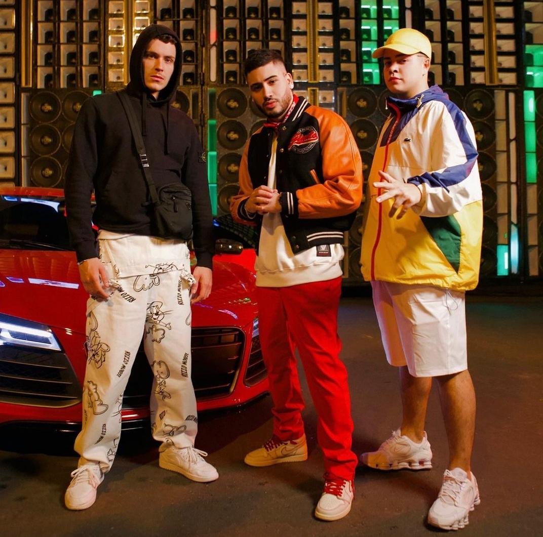 """""""Errada Ela Não Tá"""": Aron Piper grava videoclipe junto com Kevinho e Jottapê"""