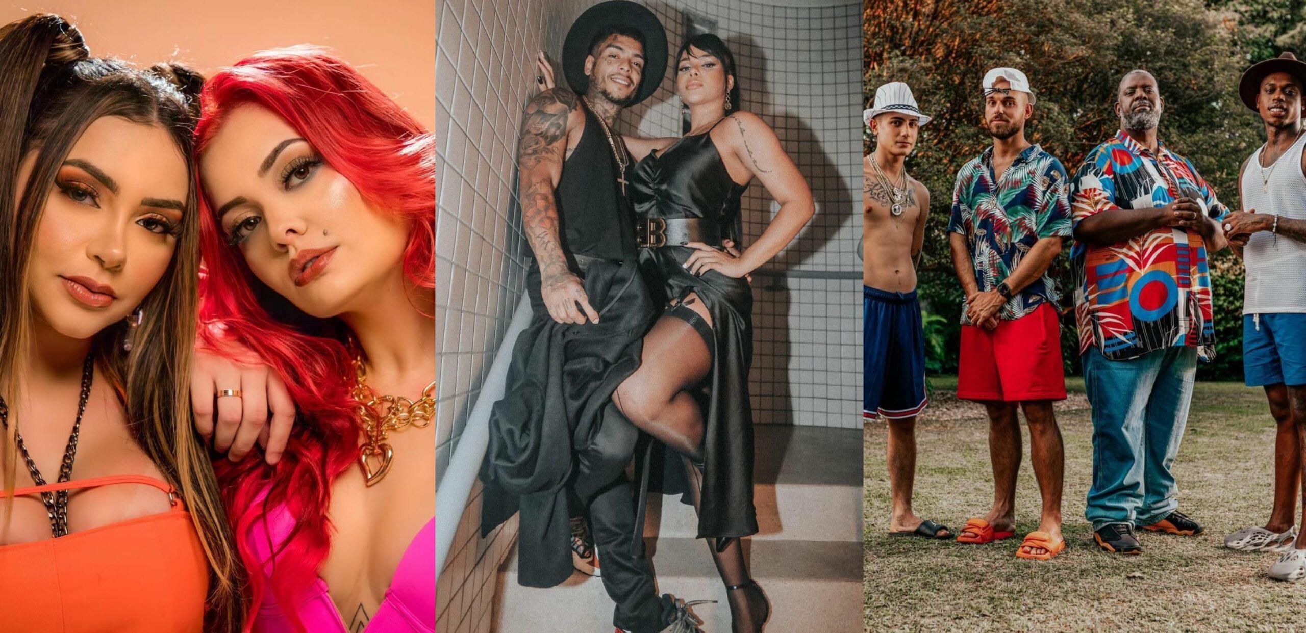 """Paredão de lançamentos: Tainá Costa e MC Mari, videoclipe da Gabily, com MC Kevin, """"Traje de Verão"""" do Papatinho, e muito mais!"""