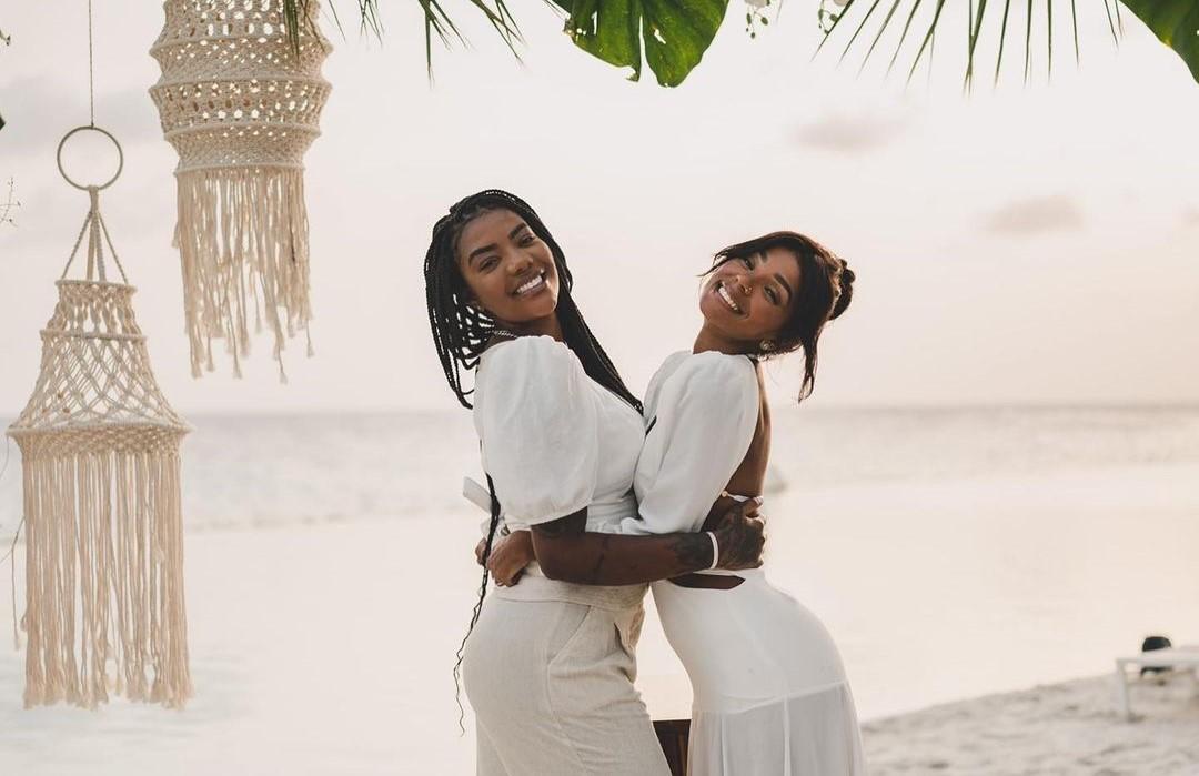 Ludmilla e Brunna Gonçalves planejam primeira gravidez