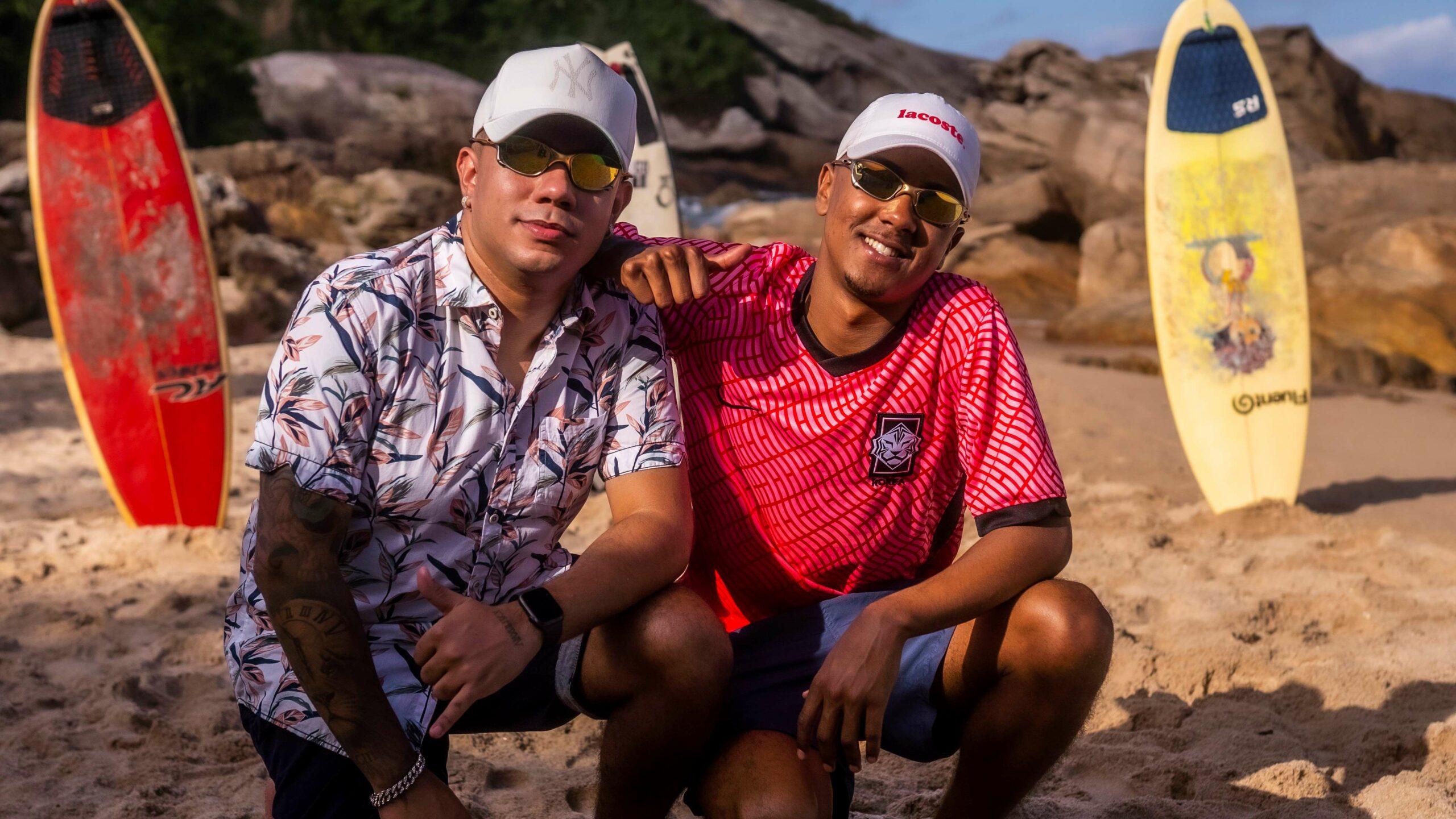"""Conheça o DJ Cleitinho e o MC Menor MT, donos do sucesso """"Tipo Surfista"""""""