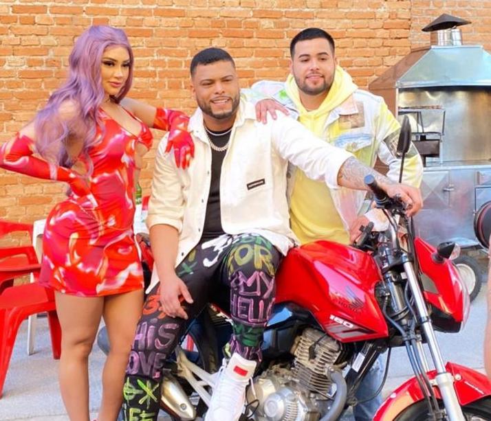 Tainá Costa, Jerry Smith e DJ Yuri Martins se unem para gravação de videoclipe
