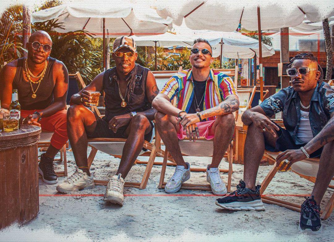 """DJ Shark solta prévia do lançamento """"Tem História Não"""", parceria com MC Kekel, Pelé Milflows e Hector Marks"""