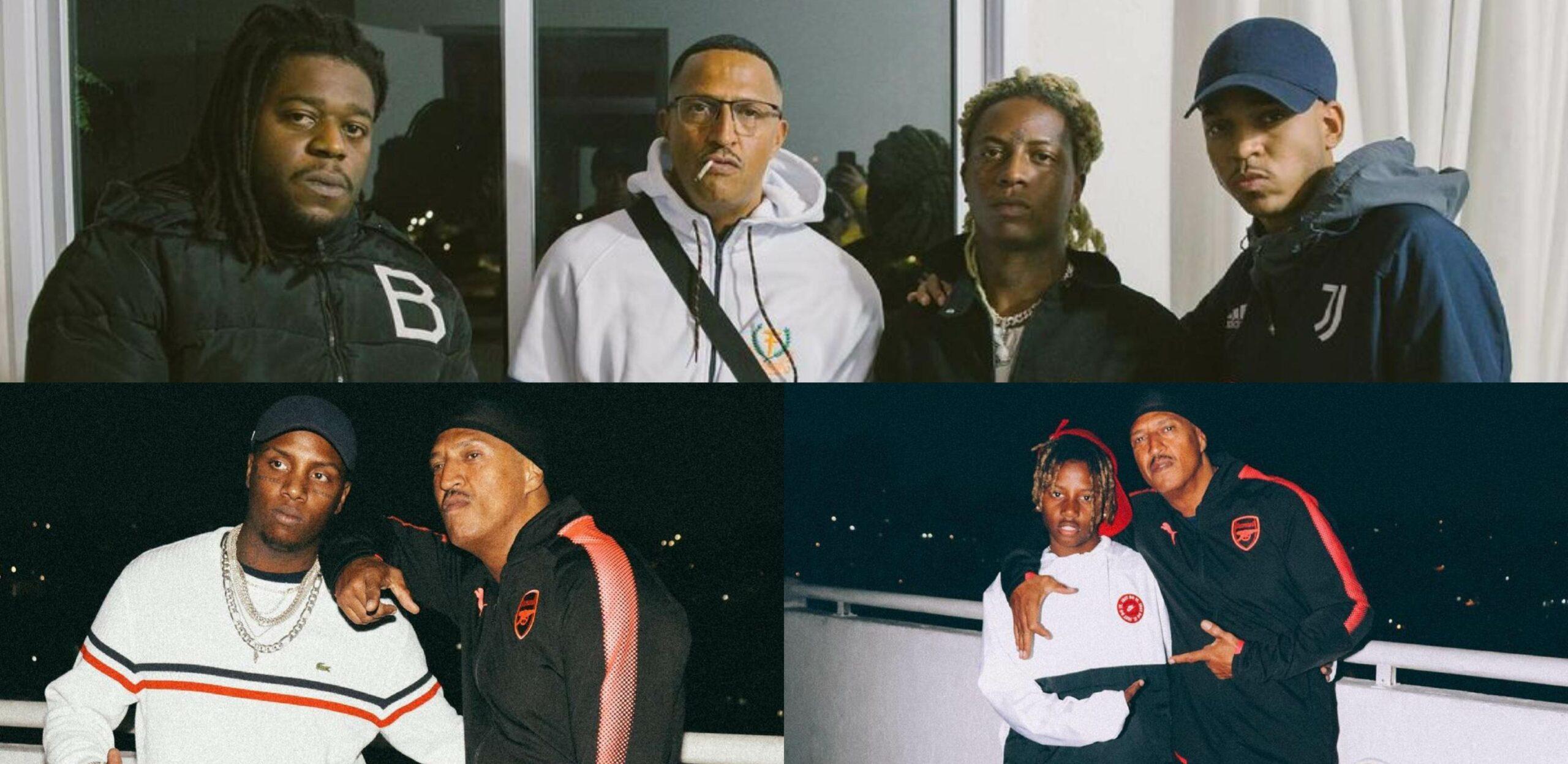 Velha e nova escola do rap: Mano Brown posta foto em estúdio ao lado de Kayblack, MC Caverinha, Kyan, Yunk Vino e Big da Godoy