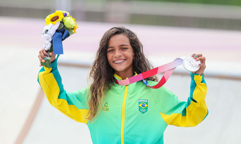 Das quebradas do Maranhão para o pódio olímpico; conheça Rayssa Leal, a fadinha do Skate