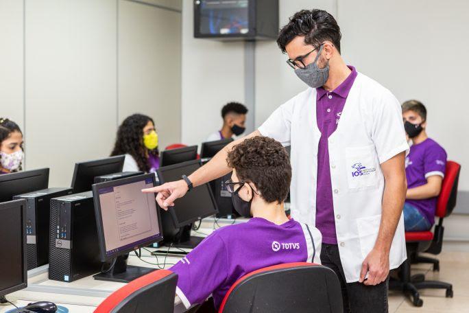 IOS abre 1.524 vagas em cursos gratuitos de formação profissional destinados para jovens de 14 a 29 anos