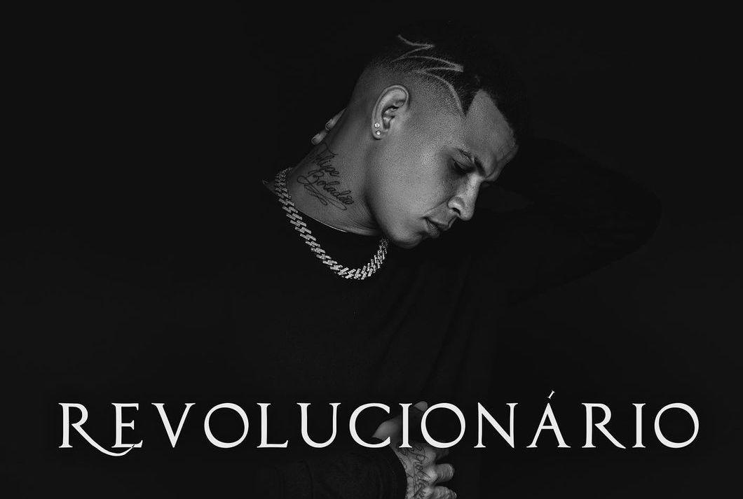 """Dadá Boladão solta capa do EP """"Revolucionário"""", que chega com nove faixas inéditas"""