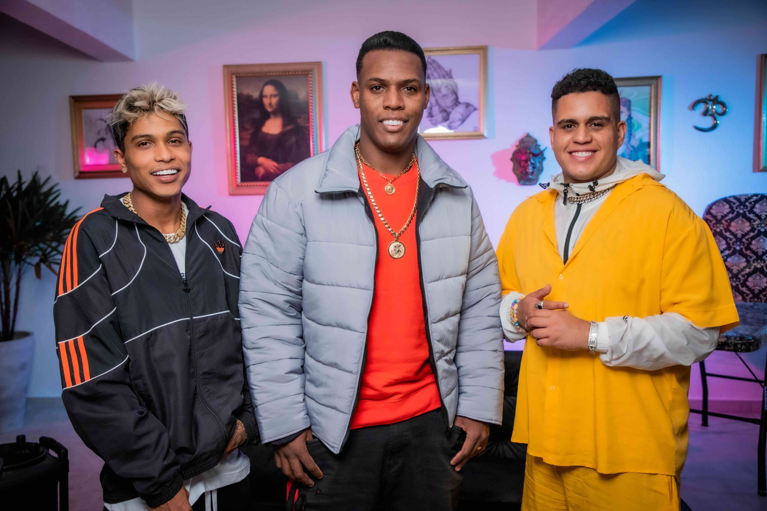"""Junior Lord, MC Kekel e Gaab se unem no lançamento de """"Rockstar"""" na próxima sexta-feira"""