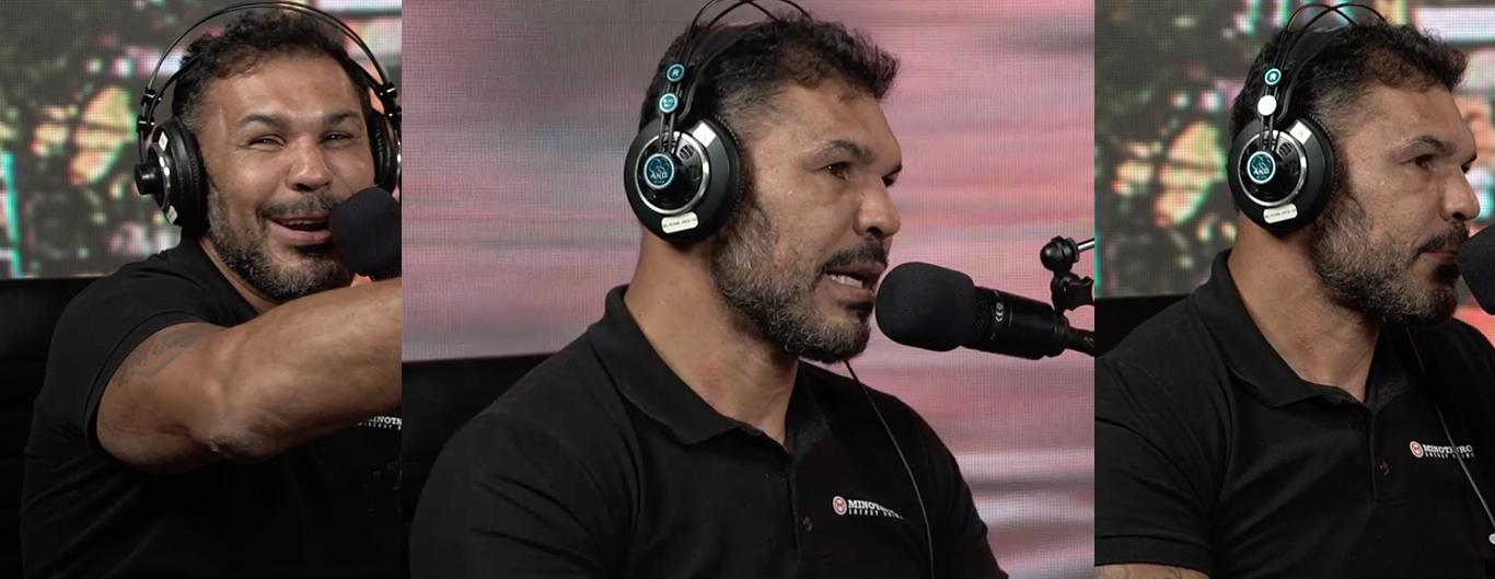 """""""Muita gente não tem o controle e perde a mão"""", diz  Minotauro sobre clima das pesagens que antecedem as lutas do UFC"""