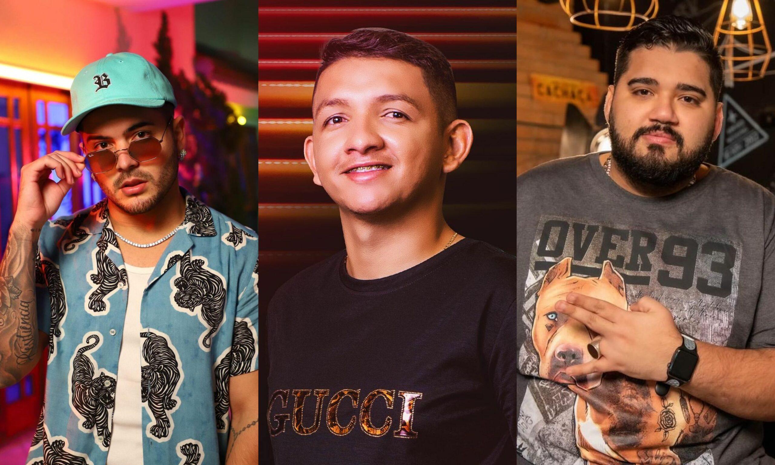 Matheuzinho se une em estúdio com Marcynho Sensação para gravação de feat com produção do DJ RD