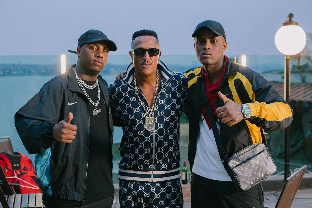 Mano Brown se une com MC IG e KayBlack para gravação de videoclipe