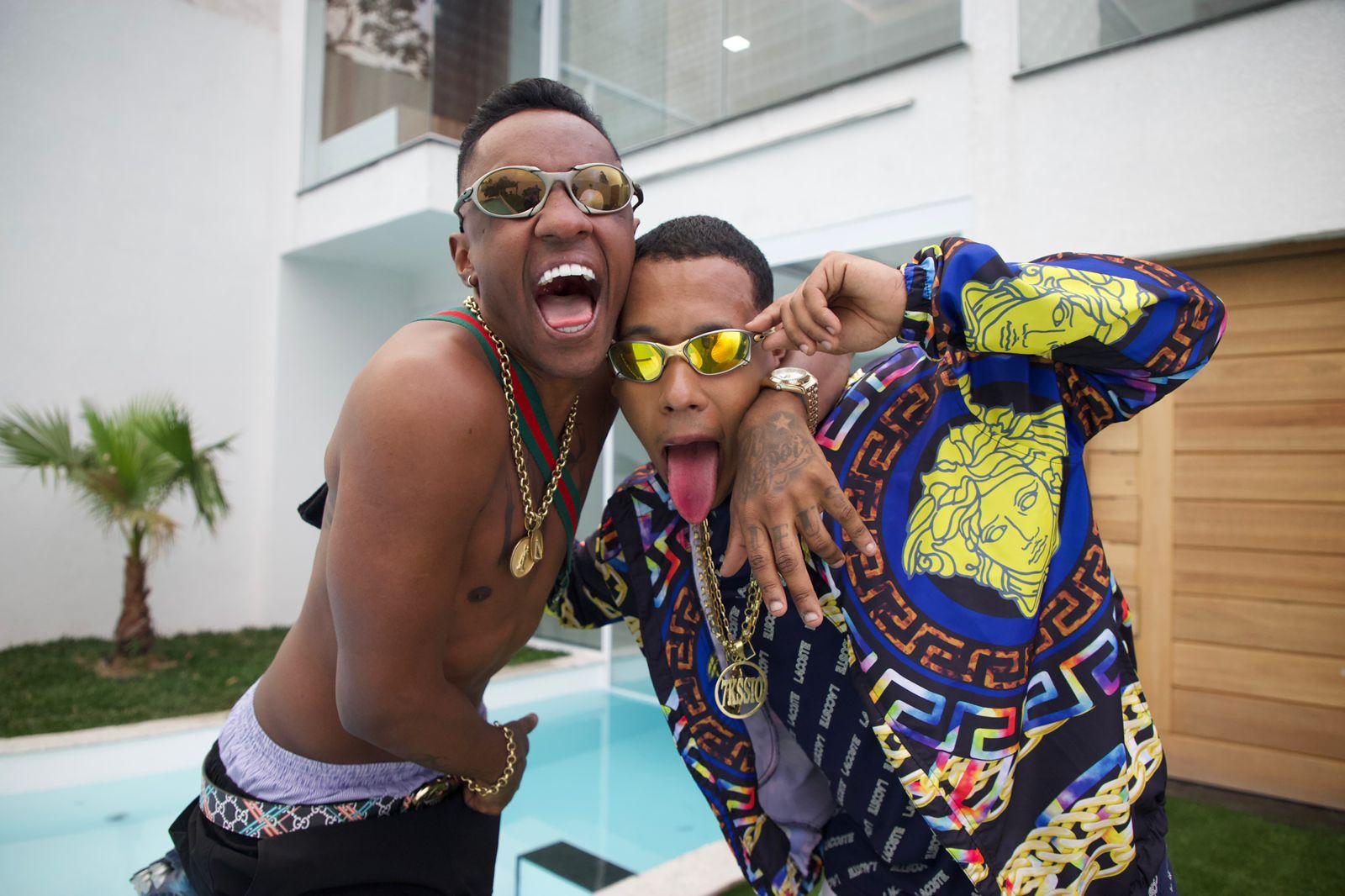 MC Dede grava videoclipe com MC 7kassio