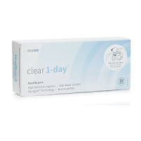 Clear 1-day Kontaktlinsen