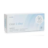 Clear 1-day Kontaktlinsen