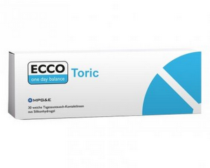 ECCO one day balance Toric 30er Packung