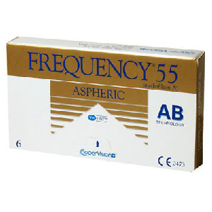 Frequency 55 Aspheric 6er Packung
