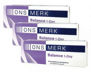 ONS MERK Balance 1-Day 90er Packung