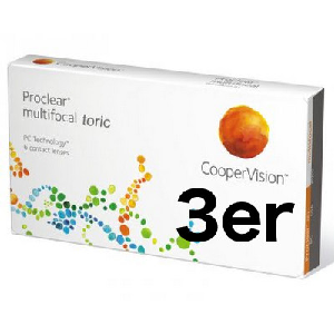 Proclear Multifocal Toric 3er Packung