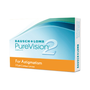 PureVision 2 for Astigmatism 3er Packung