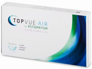 TopVue Air for Astigmatism 3er Packung