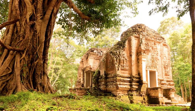 カンボジア第3の世界遺産 神秘のサンボー・プレイクック