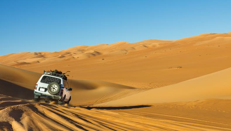 トランジットの待ち時間で砂漠へGO!@ドバイ