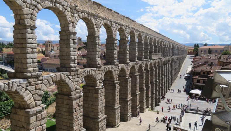 スペイン 古都セゴビアを訪れる