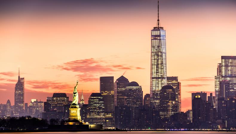 これぞニューヨーク!自由の女神やマンハッタンをまわりたい