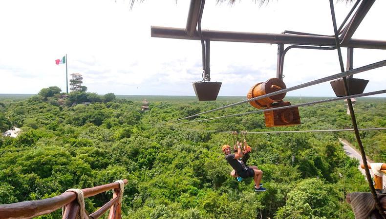 空・陸・地下の大冒険!メキシコのエクスプロールがすごい!