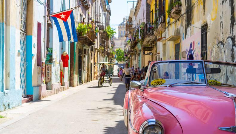 キューバはもはや人気の観光地