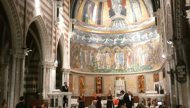 ローマならでは!本場のオペラを教会で堪能