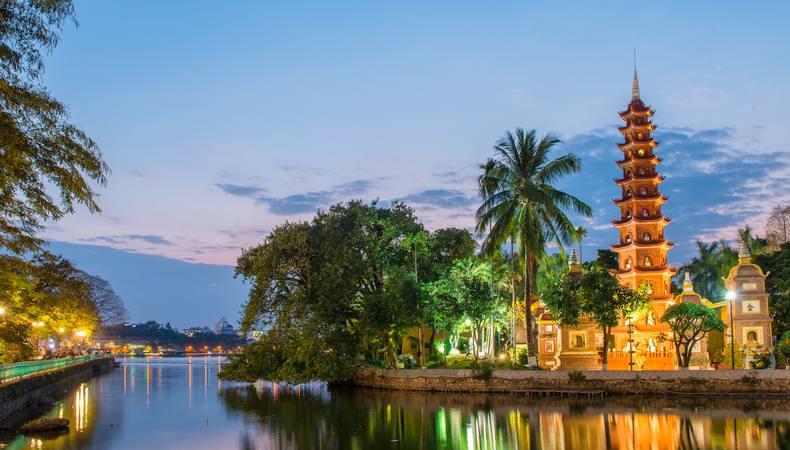 ベトナム、贅沢なハノイの夜を満喫したい!