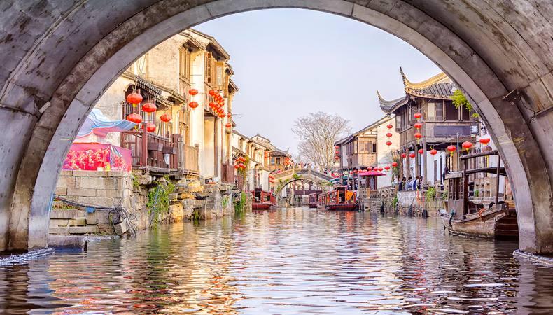 上海から足を伸ばして水の都、蘇州へ