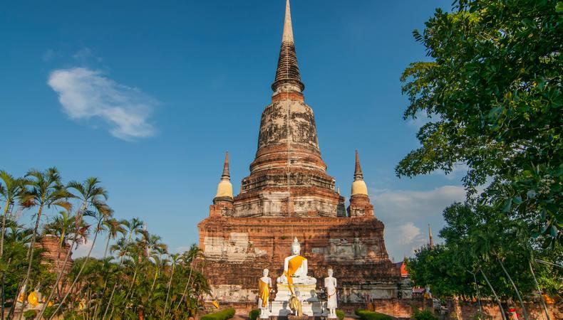 タイのアユタヤ遺跡を1日で巡る