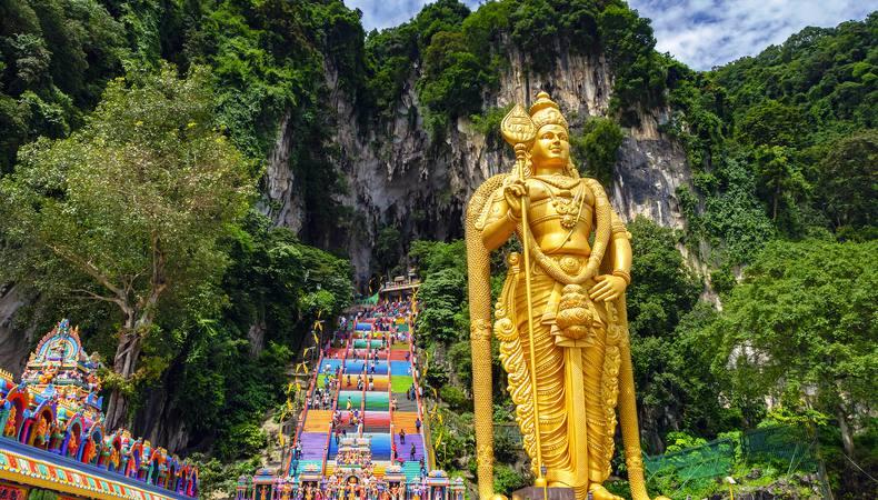 マレーシア、ヒンドゥー教の聖地バトゥ洞窟に行きたい!