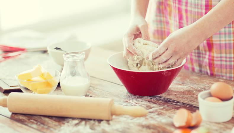 本場イギリスでアフタヌーンティーのお菓子作り