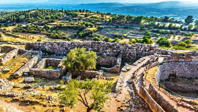 ギリシャで必見の世界遺産ミケーネ遺跡