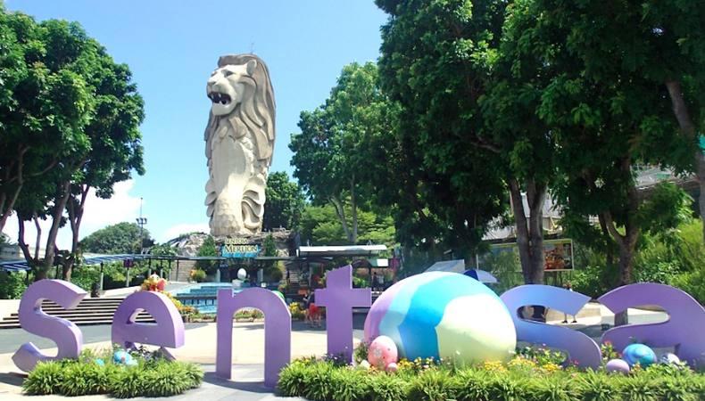 シンガポールのセントーサ島で遊びまくる!