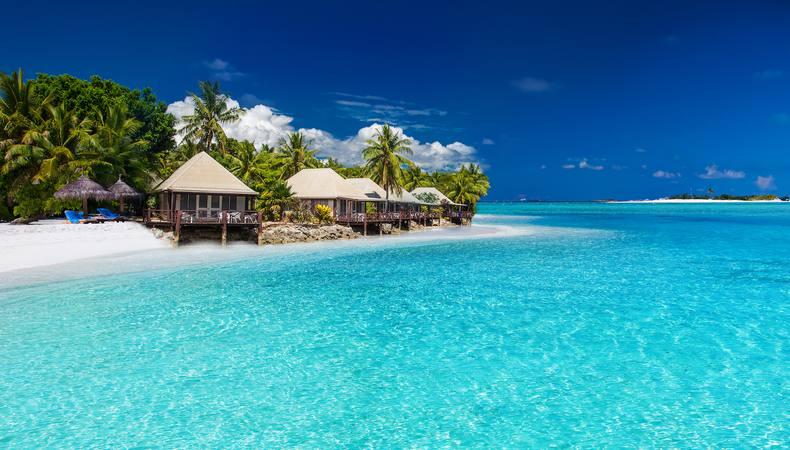 フィジーの離島で贅沢にのんびり過ごしたい